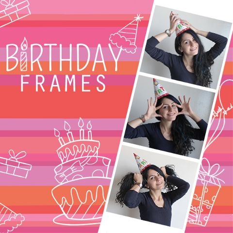 birthday frames package