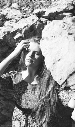 black & white bokeh emotions people photostory