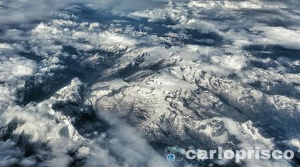 alps travel snow hdr