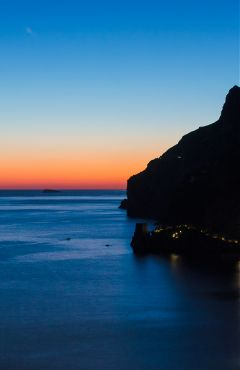 positano travel italy sunset ocean