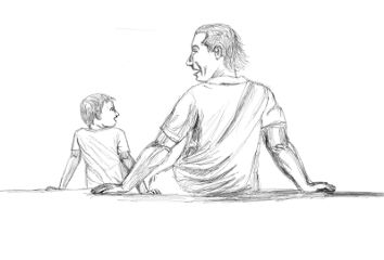 draw drawing fathersday