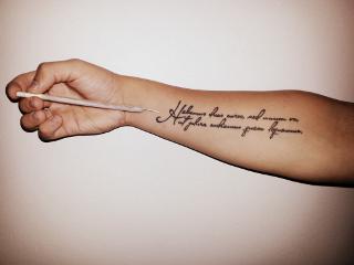 tattoo hand 420 ganja weed