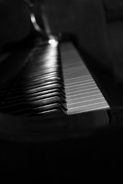 black & white photography music emotions
