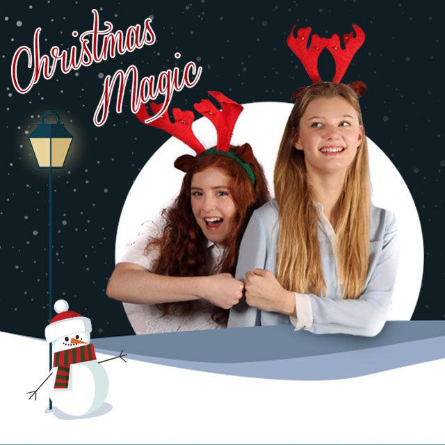 Christmas Magic frames package