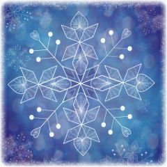 dcsnowflake winter snow drawing