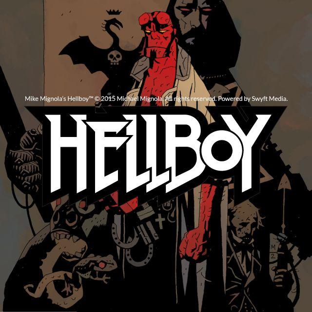 Mignola's Hellboy clipart